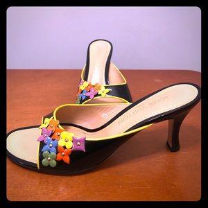 Louis Vuitton Fleur Slide Sandals Size 39